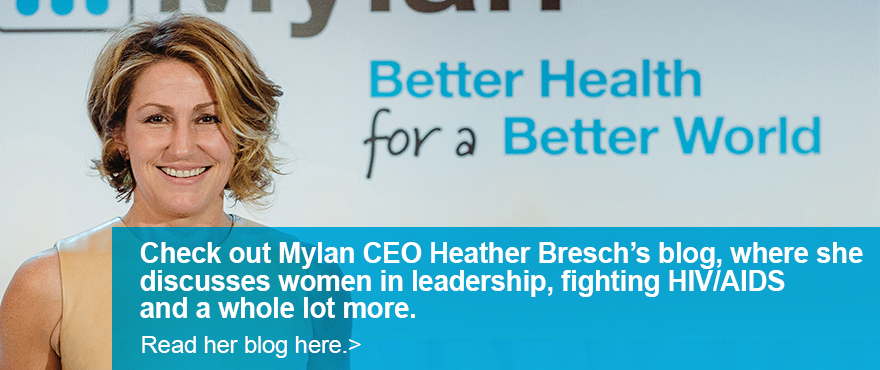 Heather Bresch - CEO Blog